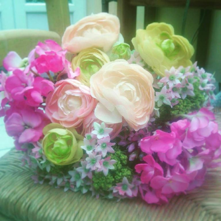 bouquet champetre douceur fleurs artificielles. Black Bedroom Furniture Sets. Home Design Ideas