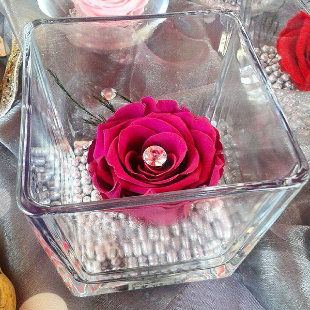 Cadeau saint valentin rose stabilis e composition florale for Livrer des roses