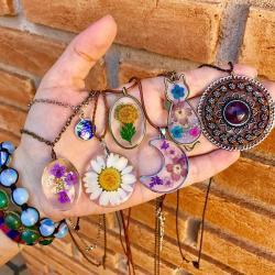 bijoux fleuris