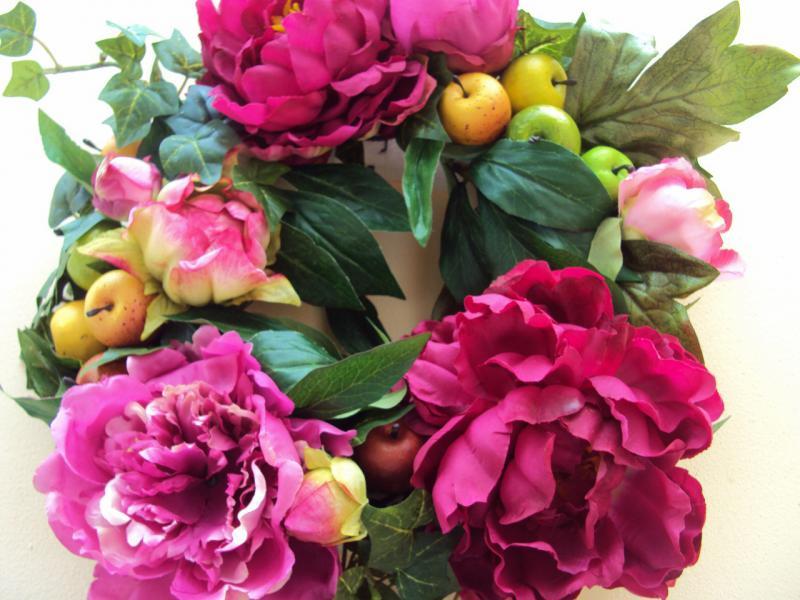 Fleurs en satin ou latex