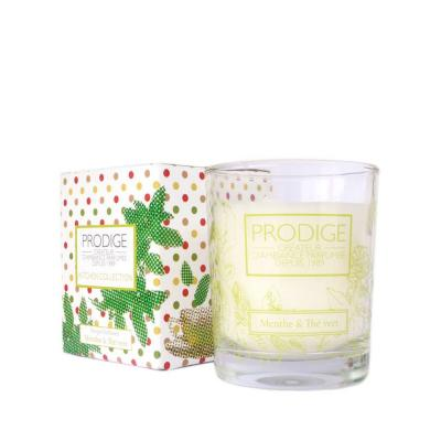 Bougie parfumee menthe the vert 1