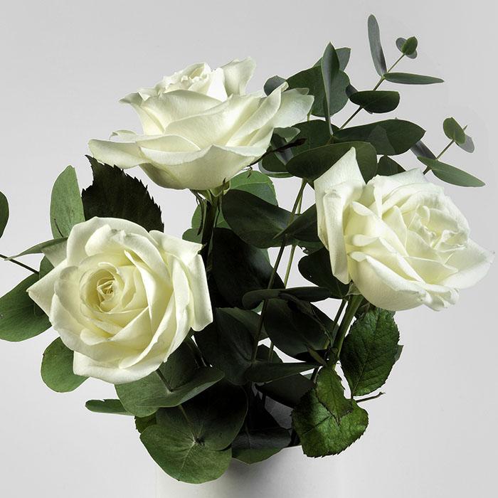Bouquet 3 blanc