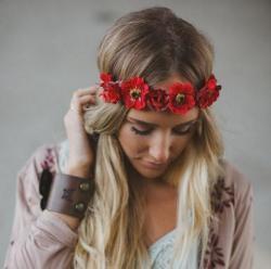 Diad rose hippie