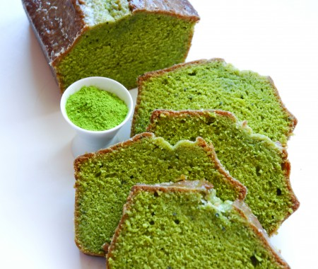 Gateau matcha le the de cathy