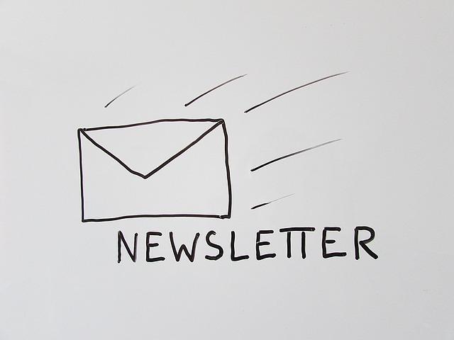 Newsletter artifleurs