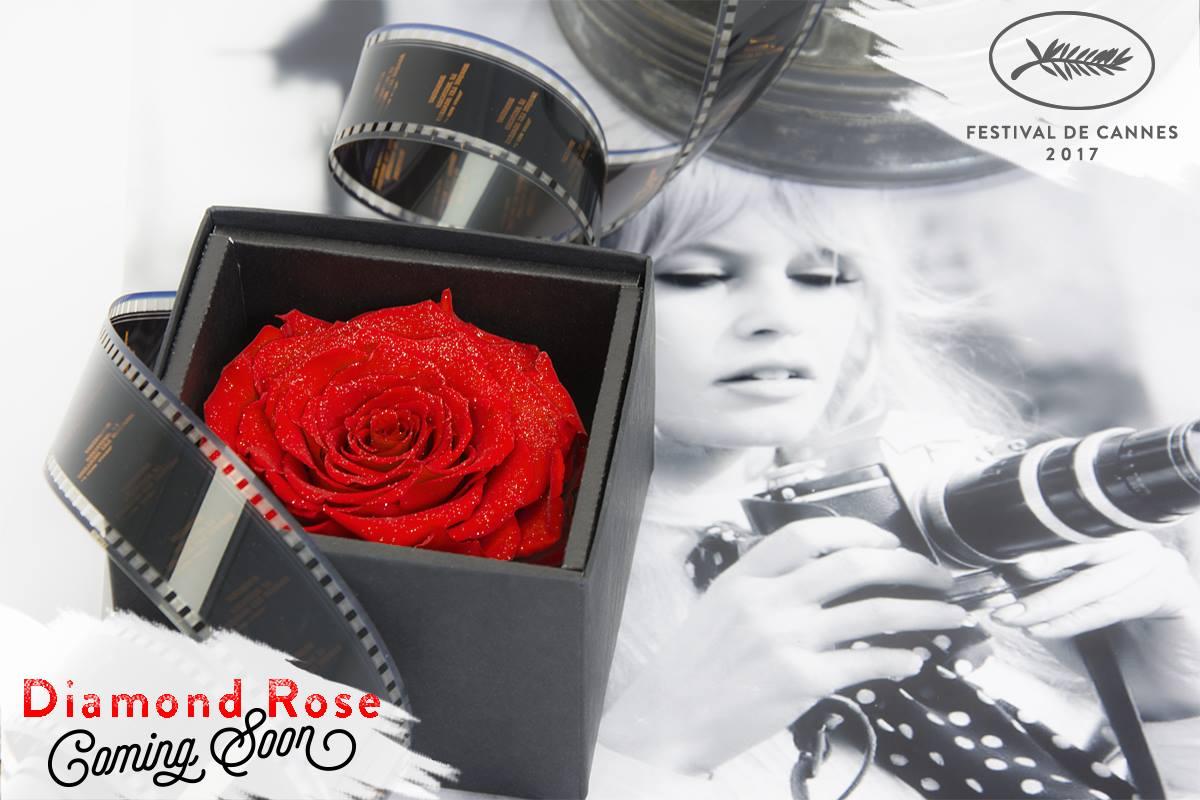 Rose diamant artifleurs