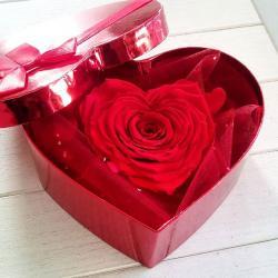 Rose forme coeur artifleurs