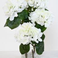 200bouquet hortensia blanc