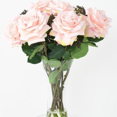 250bouquet roses romances rose