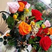 Bouquet éternel artifleurs