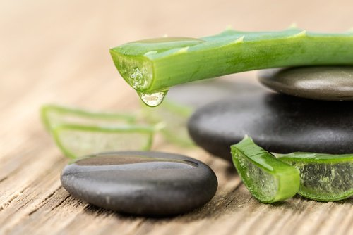 Aloe vera savon