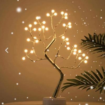 Arbre lumineux perles