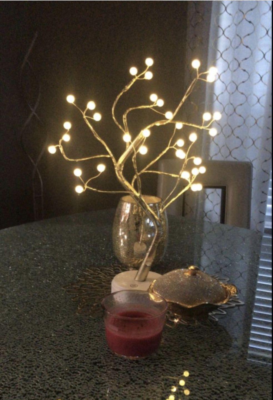 Arbre lumineux perles2