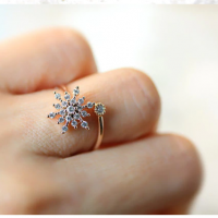 Bague etoile or2