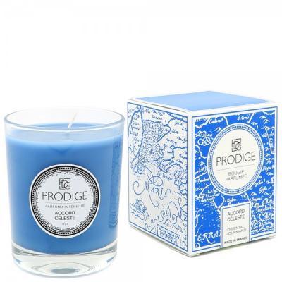 Bougie parfumee accord celeste oriental gourmand