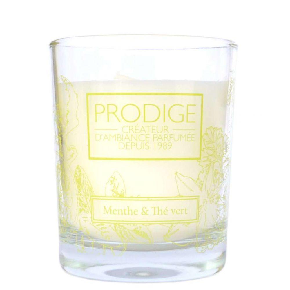 Bougie parfumee menthe the vert 2