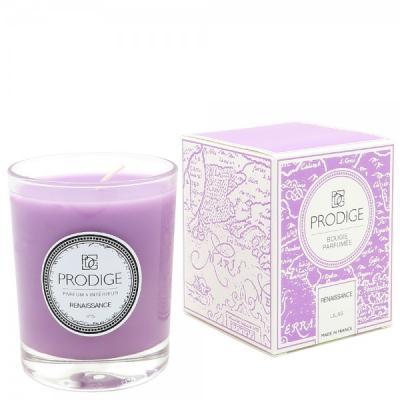 Bougie parfumee renaissance lilas