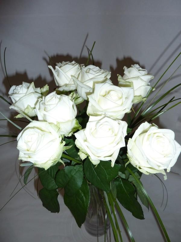 Bouquet 9 blanc