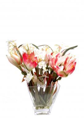 Bouquet amarylis narcisse