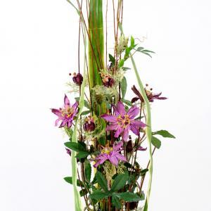 Bouquet mauve artifleurs