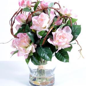 Bouquet romance artifleurs
