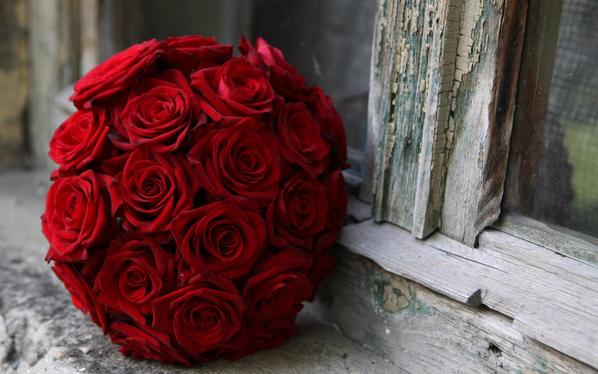 Bouquet rose rouge artifleurs