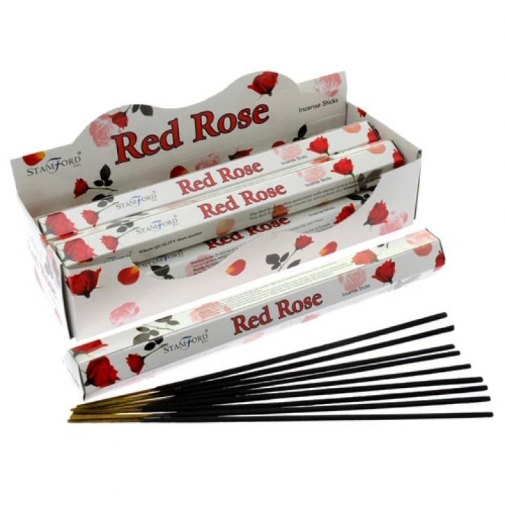 Encens rose rouge 1