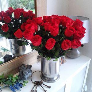 bouquet de roses artifleurs