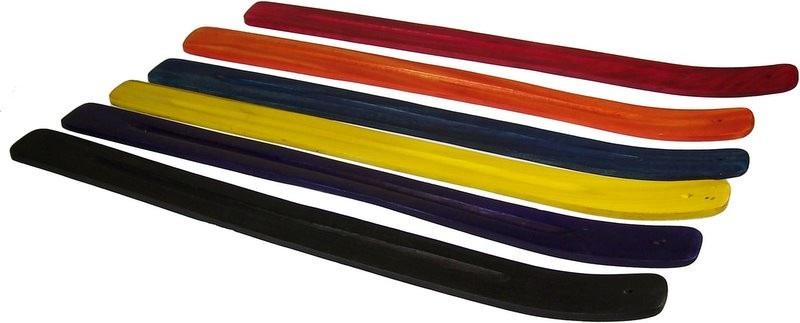 Porte encens bois couleur